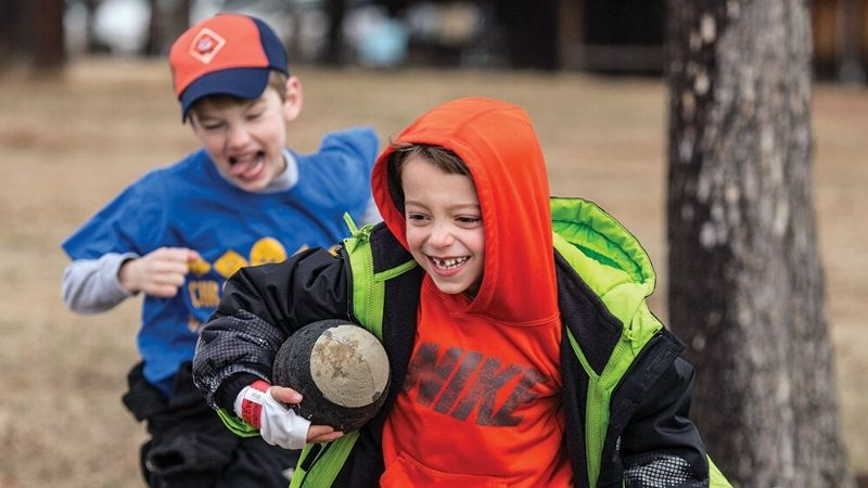 cub scout island rivaly game