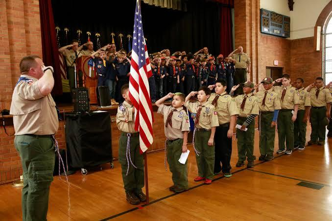 simple cub scout flag ceremony