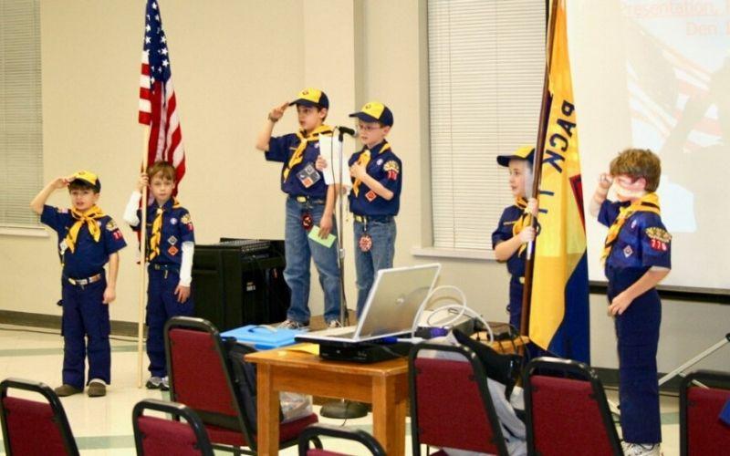 cub scout flag ceremony etiquette