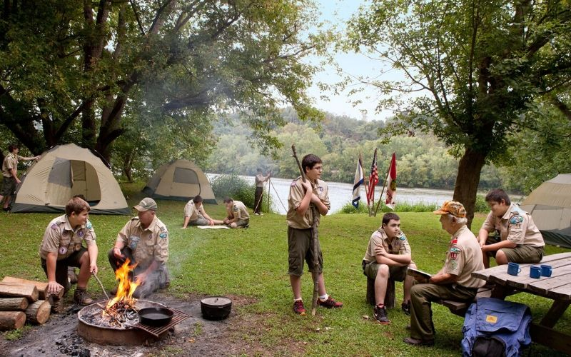 camping merit badge requirements