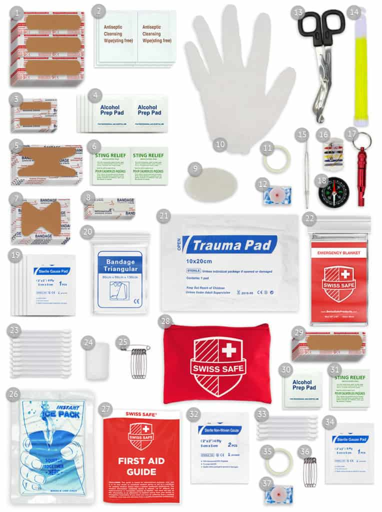 first aid kits for troop